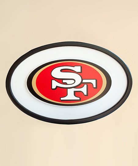 "San Francisco 49ers 31"" Logo Wall Art"
