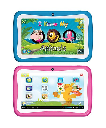 Kid-Friendly 7'' Tablet
