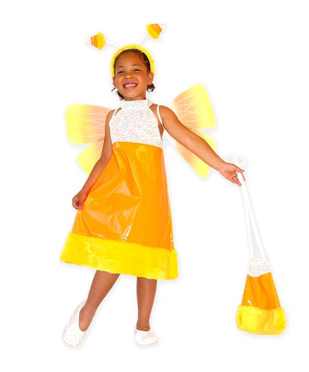 Candy Corn Fairy Dress-Up Set - Girls