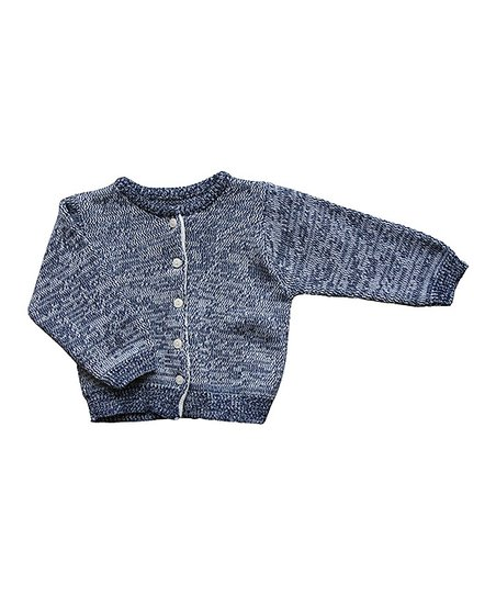 Heather Blue Cardigan - Infant