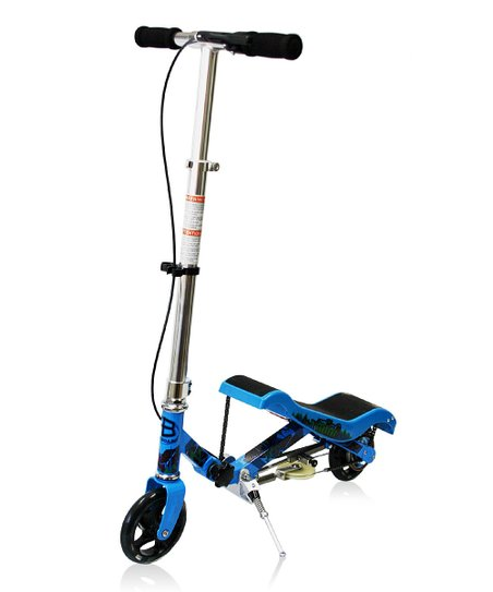 Blue Mini Scooter