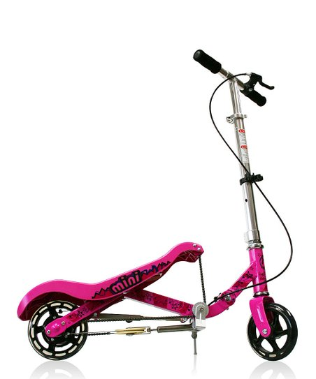 Pink Mini Scooter