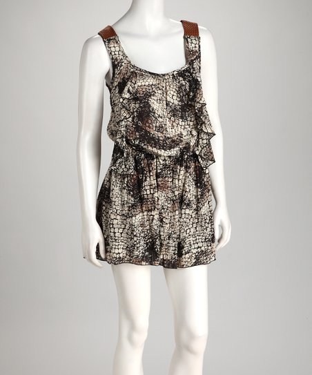 Snakeskin Dress