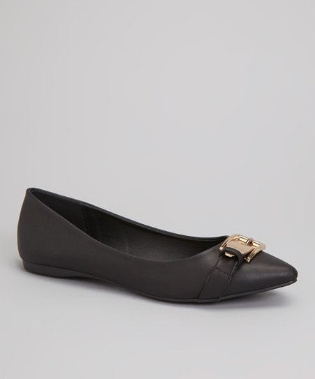 Black Ian Buckle Flat