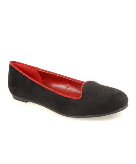 Black Suede Game Face Loafer