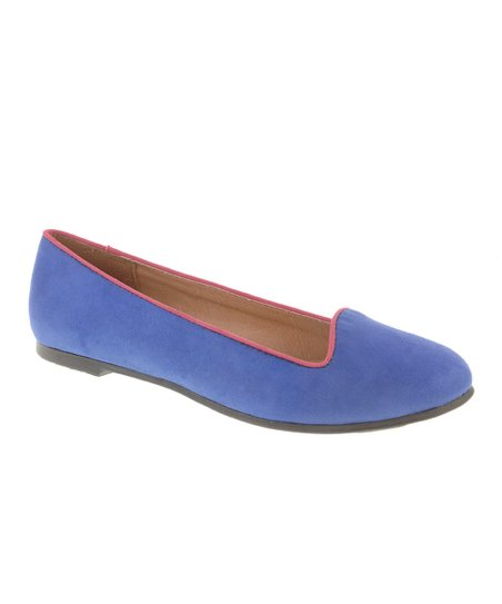 Cobalt Blue Game Face Loafer