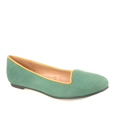 Green Suede Game Face Loafer