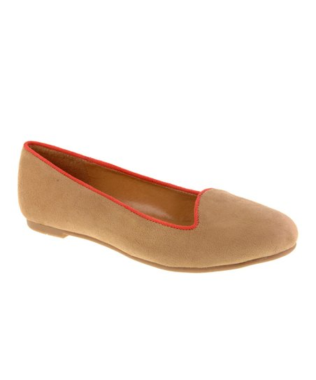 Nude Suede Game Face Loafer