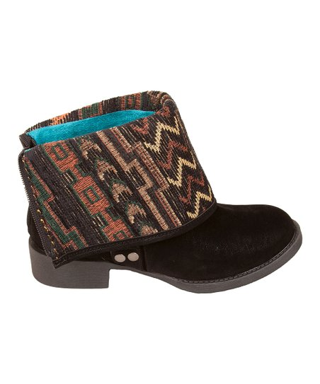 Black Fawn & Tonto Kenessa Fold-Over Boot