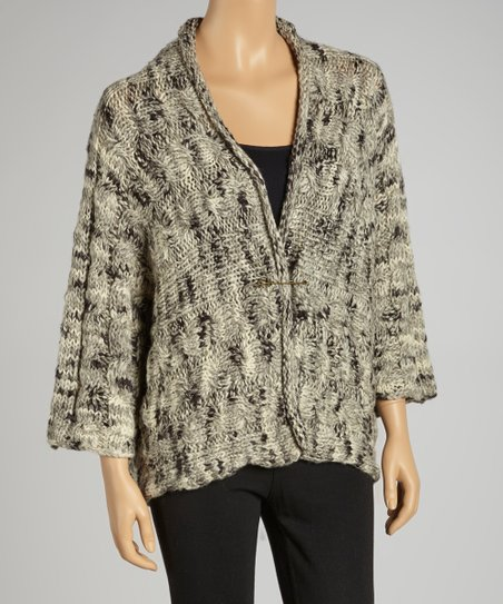 Salt Wool-Blend Dolman Cardigan