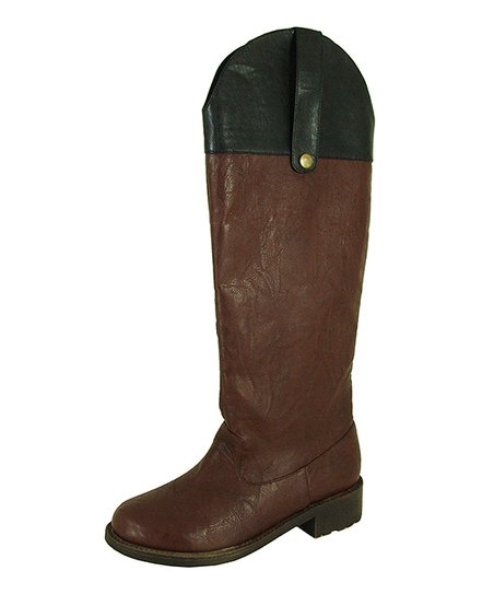 Brown Relax Riding Boot