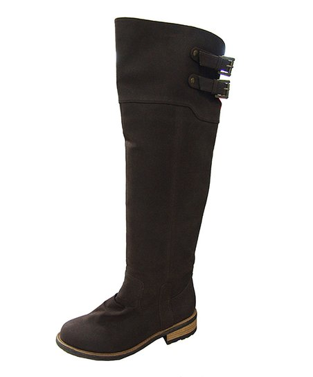 Brown Knee-High Riding Boot