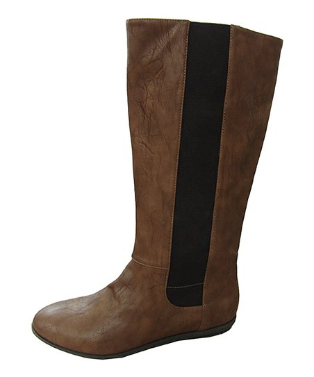 Taupe Stretch Boot