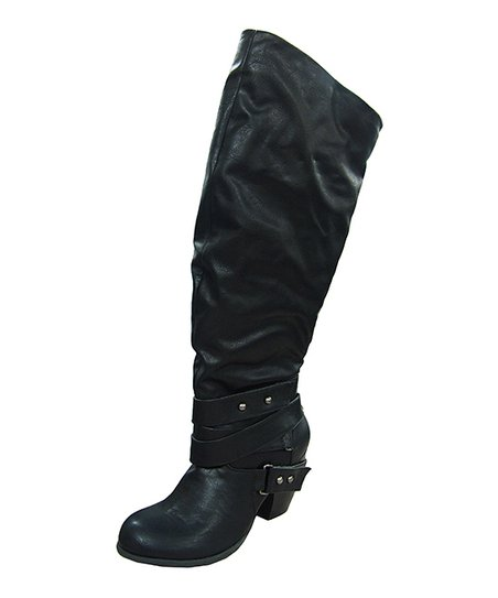 Black Wrap Boot