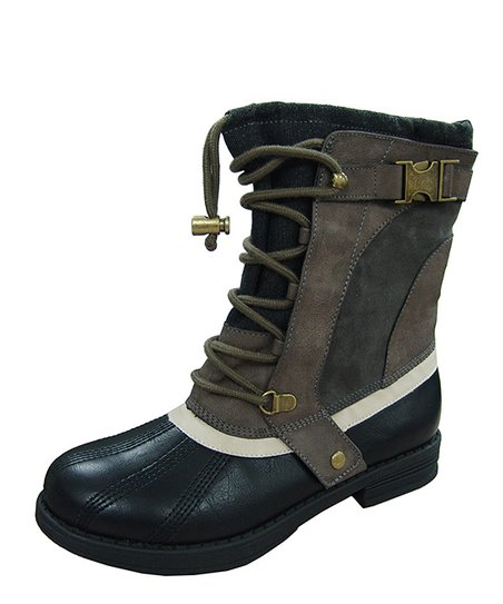 Gray Seattle Weather Boot