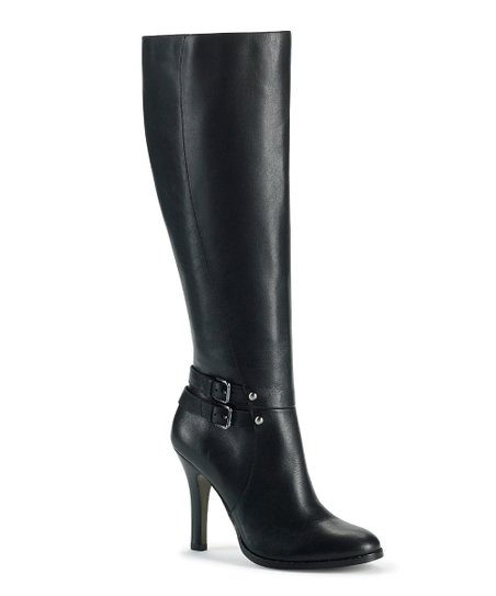 Black Leather Umbria Boot