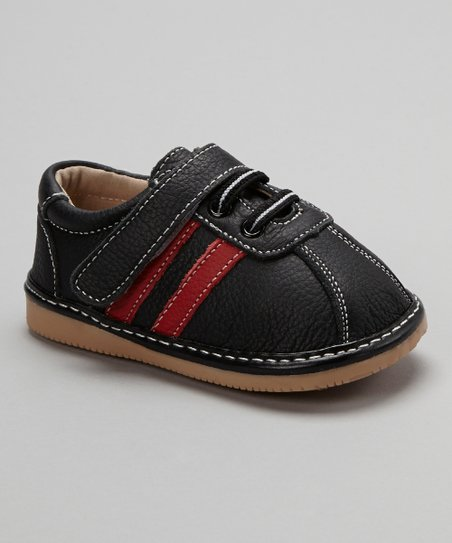 Black & Red Stripe Shoe