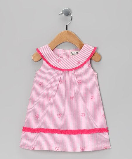 Pink Butterfly Dress - Infant, Toddler & Girls