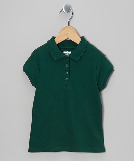 Forest Short-Sleeve Polo - Girls