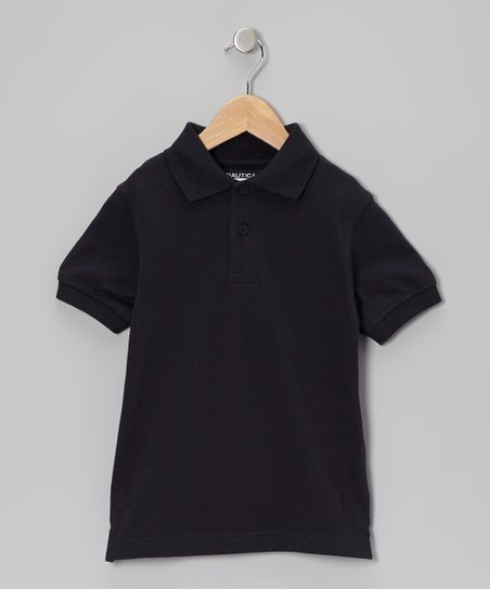 Navy Uniform Polo - Boys
