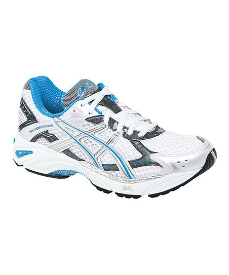 White & Lightning GEL-Foundation 9 Running Shoe - Women