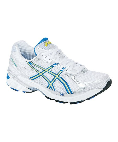 White & French Blue GEL-1160 2A Running Shoe