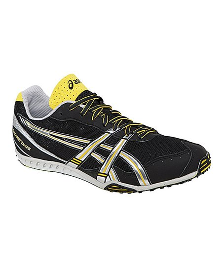 Black & Silver GEL-Dirt Dog 3 Track & Field Shoe - Men