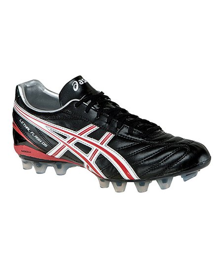 Black & Fire Red Lethal Flash DS IT Soccer Cleat - Men