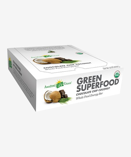 Chocolate Chip Coconut SuperFood Bar – Set of 12