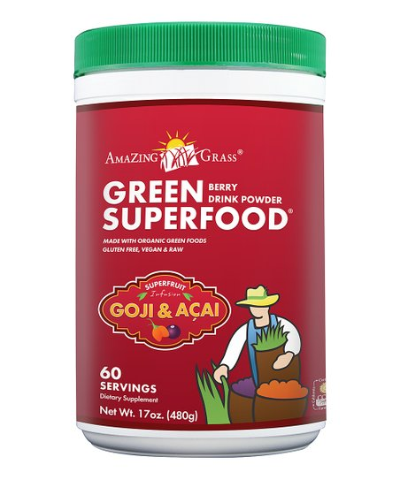 Berry Green SuperFood Powder – 60 Servings