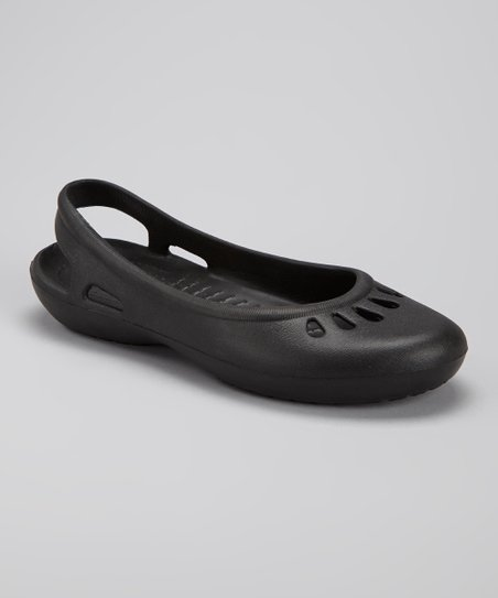 Black Teardrop Cutout Flat
