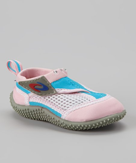Pink & Blue Adjustable Water Shoe