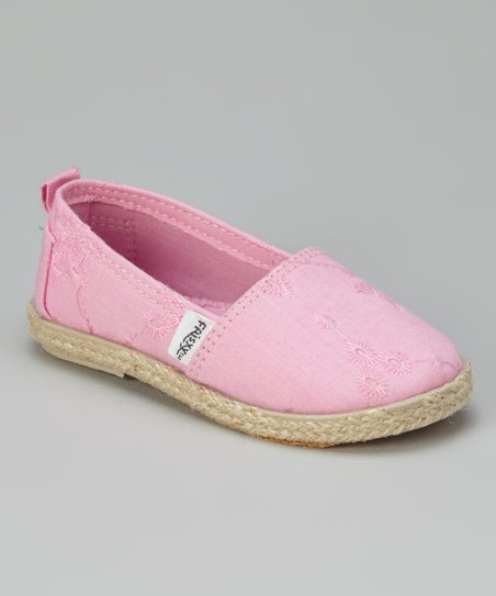 Pink Slip-On Shoe