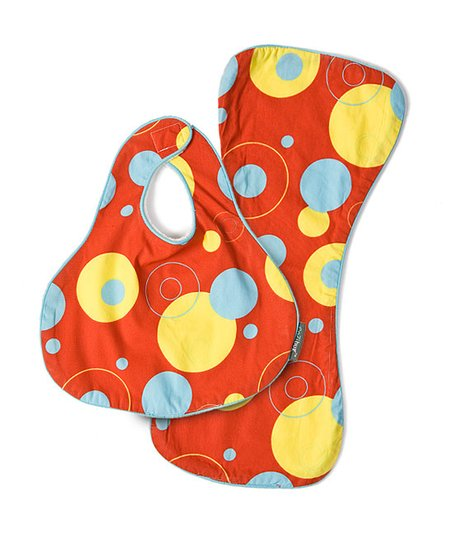 Earth Bug CoZi Drip & Drool Bib & Burp Cloth
