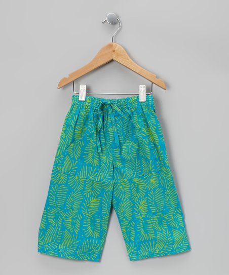 Turquoise Bermuda Shorts - Toddler & Boys