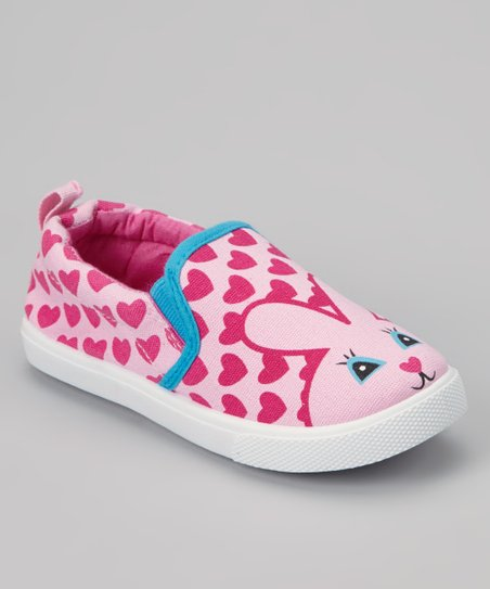 Light Pink Bunny Slip-On Sneaker