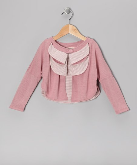 Dusty Rose Tiered Cardigan - Toddler & Girls