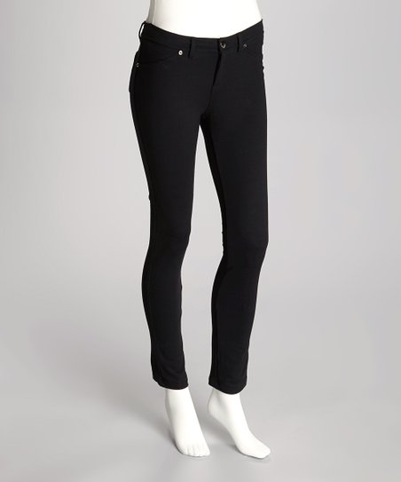 Black French Terry Leggings