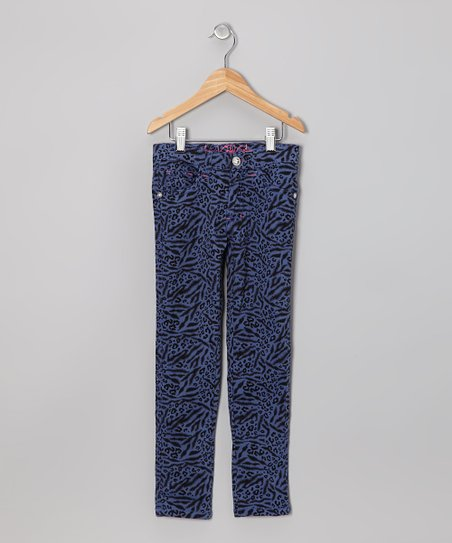 Indigo Animal Straight-Leg Jeans - Girls