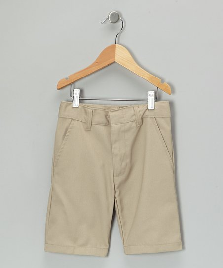 Khaki Shorts - Boys