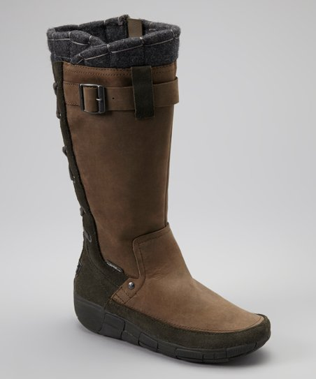 Gray Quilty Conscience Boot - Women