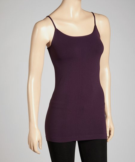 Eggplant Camisole - Women & Plus
