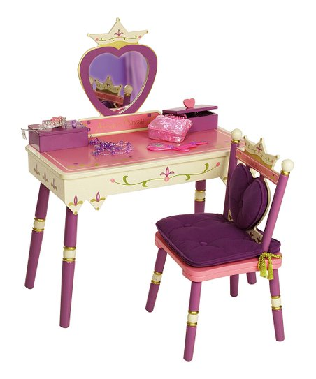 Princess Vanity & Chair