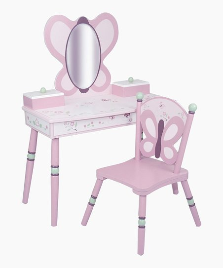 Sugar Plum Vanity & Chair