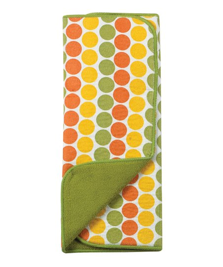 Kay Dee Designs Citrus Dot Reversible Microfiber Drying Mat
