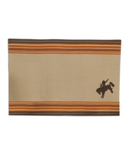 Bucking Bronco Place Mat - Set of Four