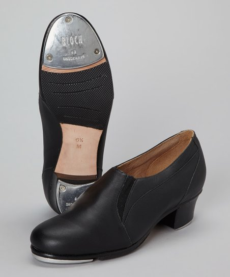 Black Leather Tap Shoe
