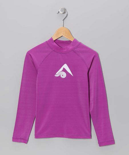 Purple Keri Rashguard - Toddler & Girls