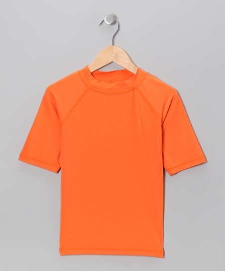 Orange Fiji Rashguard - Girls
