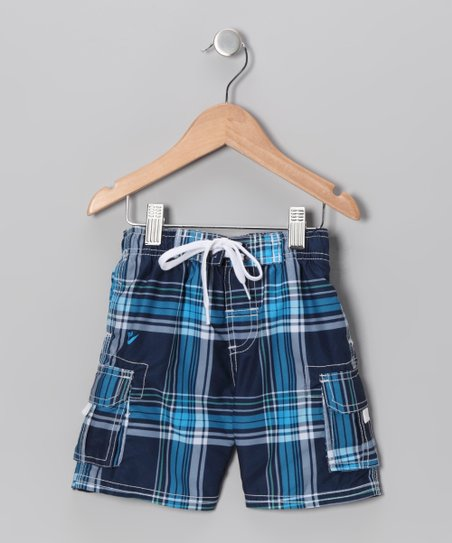 Navy Swim Trunks - Toddler